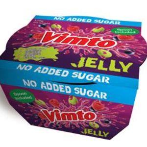 Vimto No Added Sugar Jelly 125g