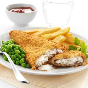 Breaded Haddock Fillets (140-170g each)