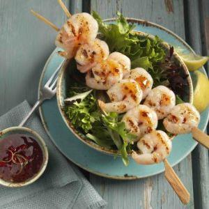 Raw and Peeled Fresh Water King Prawns (16-20 per lb)