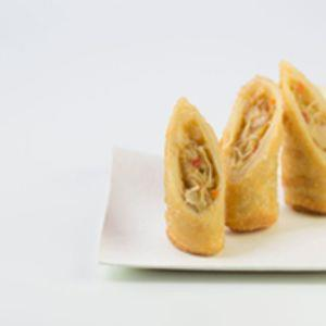 Savoury Vegetable and Beef Pancake Rolls (90g each)