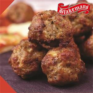 Cooked Italian Style Pork & Beef Meatballs (15g each)