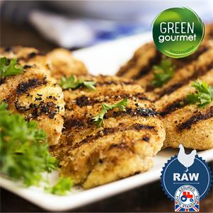 Raw Breaded Chicken Grills (60g each)