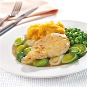 Raw Chicken Fillet Portions (50g each)