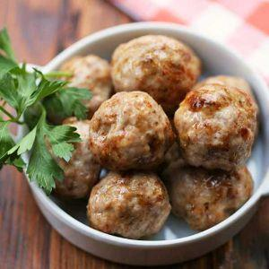 Pork Meatballs  (25g each)
