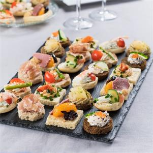 Traditional Chicago Style Canapes