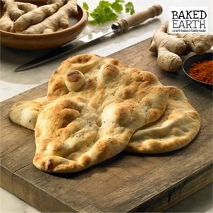 Large Plain Naan Bread
