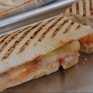 Cheese and Pizza Sauce Panini