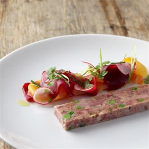 Ham Hock and Pea Terrine