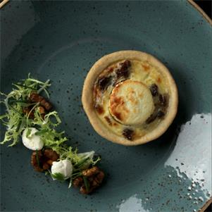 Goats Cheese & Fig Tartlet