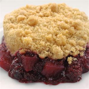Ind. Apple & Blackberry Crumble