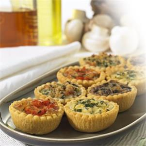 Mini Quiche Selection