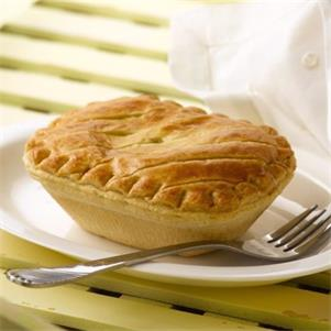 Steak & Onion Pie (Puff Pastry Lid)