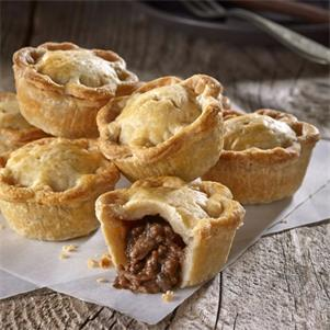 Mini Steak & Ale Pies