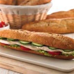 Malted Wheat Small Baguette