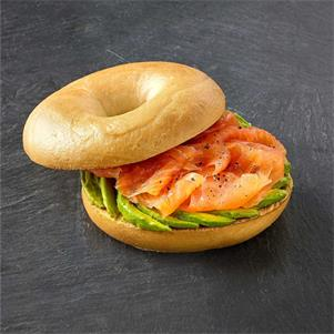 Plain Pre-Sliced Bagel