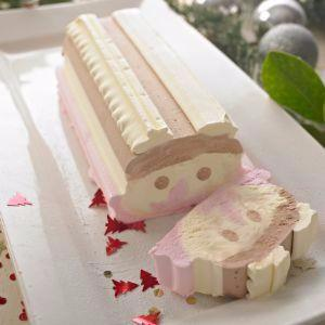 Happy Face Ice Cream Logs