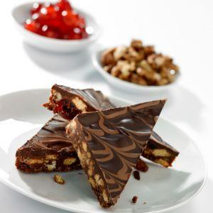 Chocolate Fruit & Nut Slice