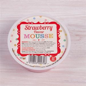 Strawberry Flavour Mousse