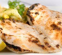 Charcoaled Butterfly Chicken Breast